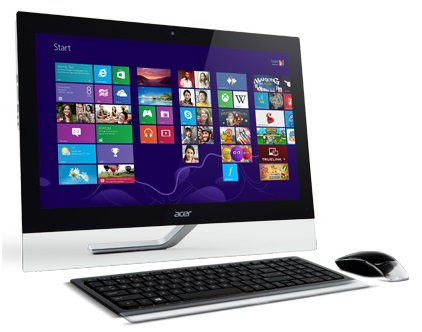 Моноблок ACER Aspire U5-610, Intel Core i5 4200M, 6Гб, 1Тб, nVIDIA - 2048 Мб, Blu-Ray, Windows 8 [dq.srter.007]