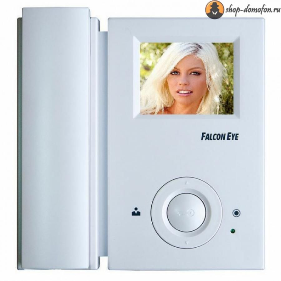 Видеодомофон FALCON EYE FE-35C,  белый