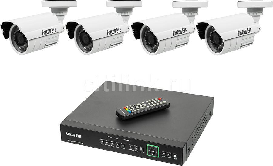 Комплект видеонаблюдения FALCON EYE FE-0104DE KIT Защита