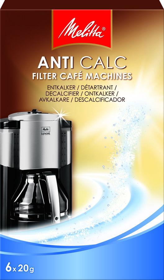 Очиститель от накипи MELITTA для кофеварок и чайников,  6 шт