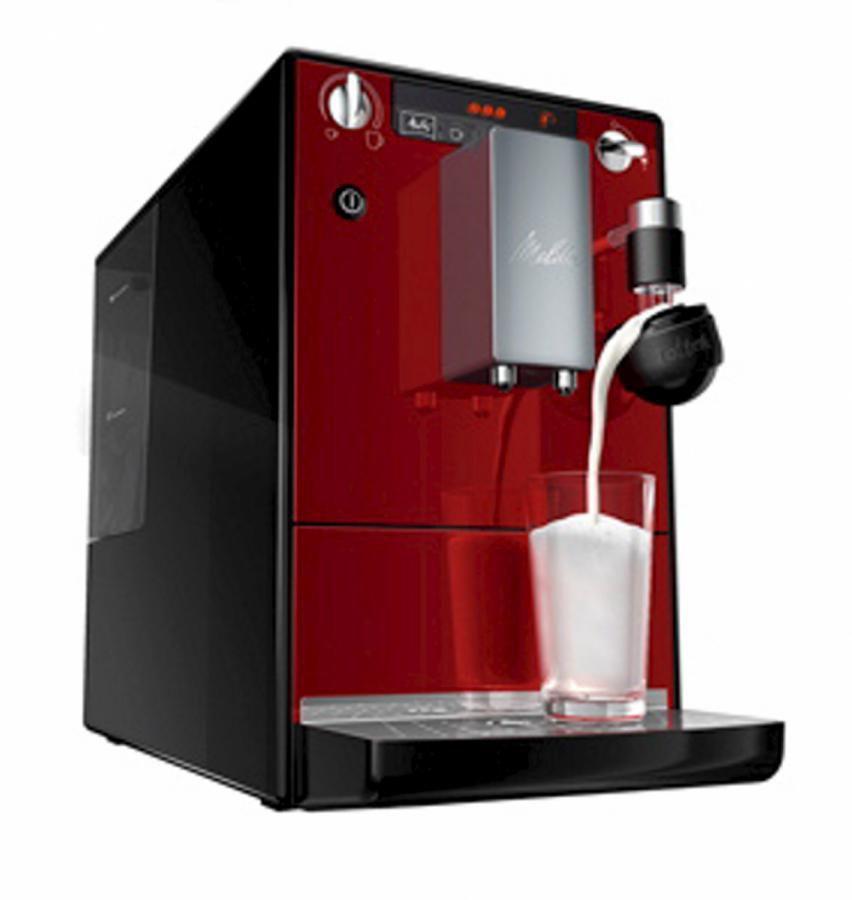 Кофемашина MELITTA Caffeo Lattea,  красный/черный