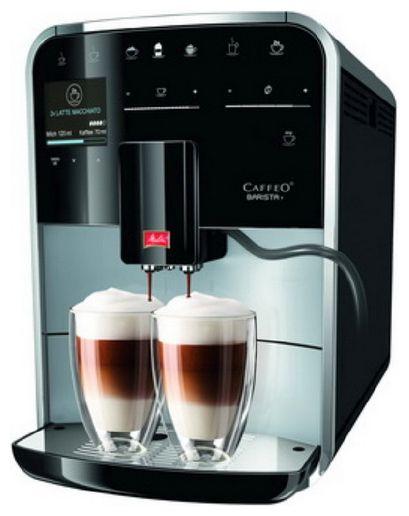 Кофемашина Melitta Caffeo Barista T 1450Вт черный (отремонтированный)