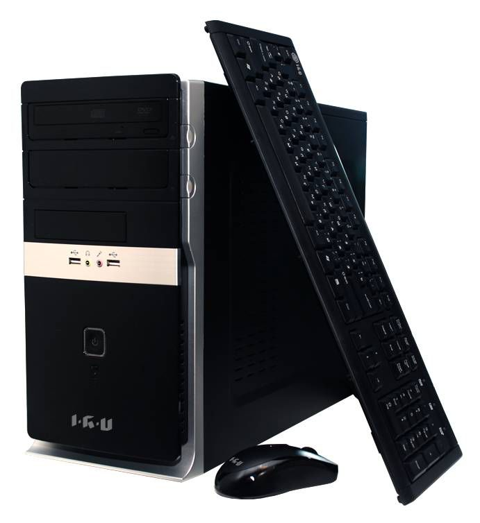 Компьютер  IRU Corp 335,  Intel  Core i3  4150,  DDR3 4Гб, 1Тб,  Intel HD Graphics 4400,  DVD-RW,  noOS,  черный [920857]
