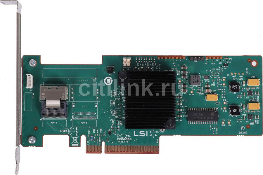 Контроллер LSI 9240-4I SGL RAID 0/1/10/5/50 4i-ports (LSI00199)