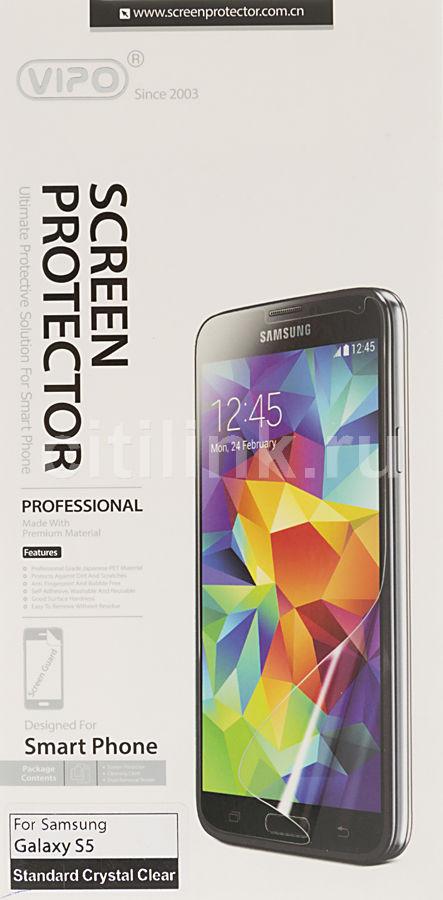 Защитная пленка VIPO для Samsung Galaxy S5,  прозрачная, 1 шт