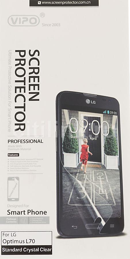 Защитная пленка VIPO для LG Optimus L70,  прозрачная, 1 шт