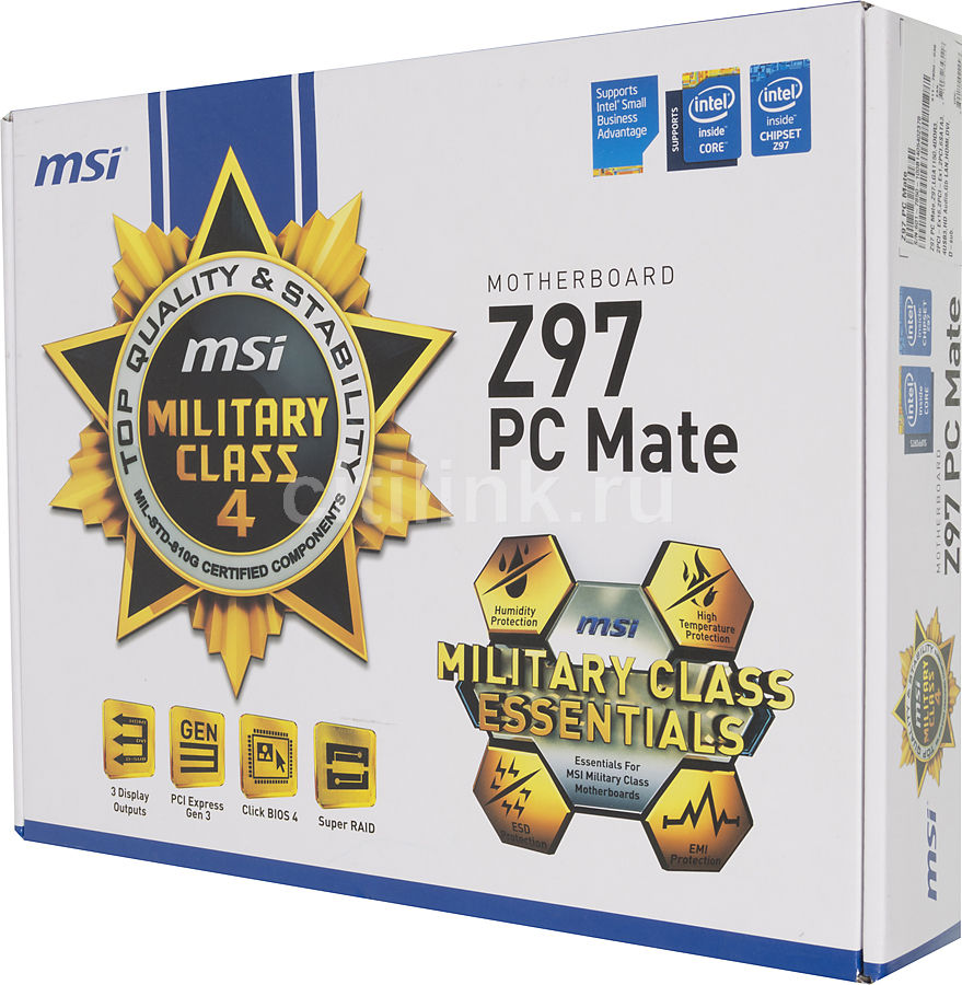 Support pour Z97 PC Mate  Motherboard  frmsicom