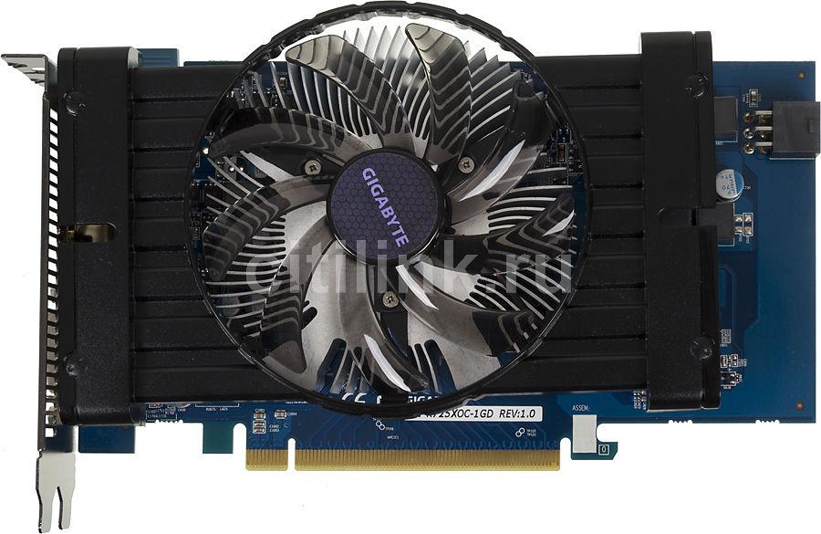 Видеокарта GIGABYTE Radeon R7 250X,  GV-R725XOC-1GD,  1Гб, GDDR5, OC,  Ret