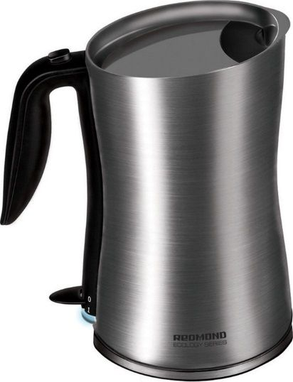 Чайник Redmond RK-M134 1.2л. 1800Вт серебристый (нержавеющая сталь)(Б/У)