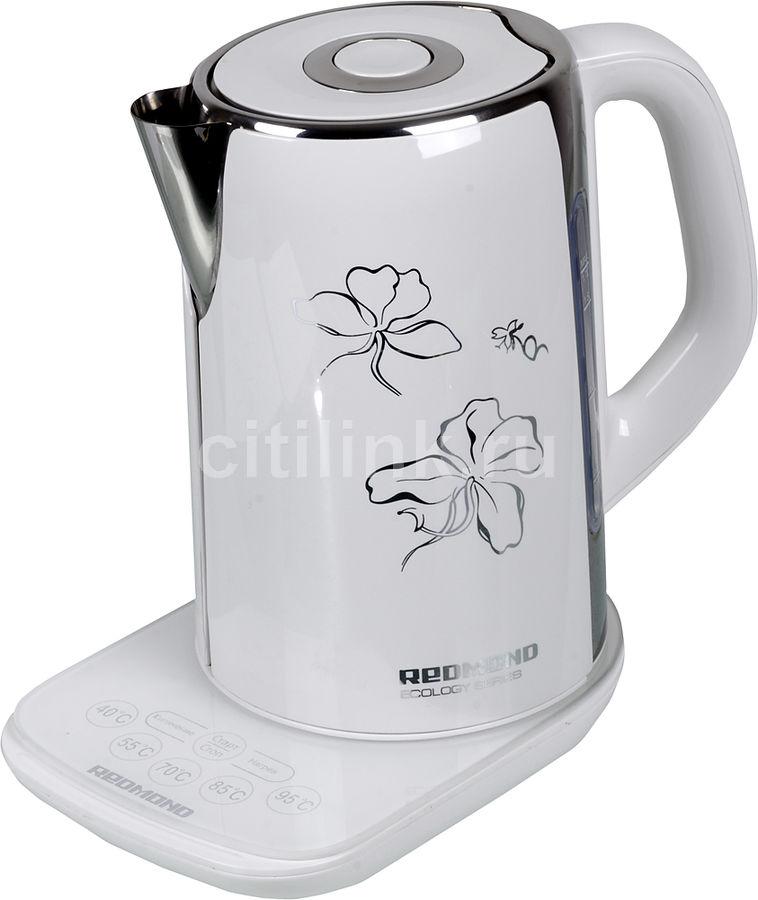 Чайник электрический REDMOND RK-M130D, 2400Вт, белый