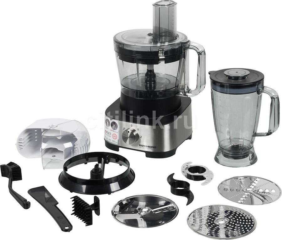 Кухонный комбайн REDMOND RFP-М3905,  серебристый/черный
