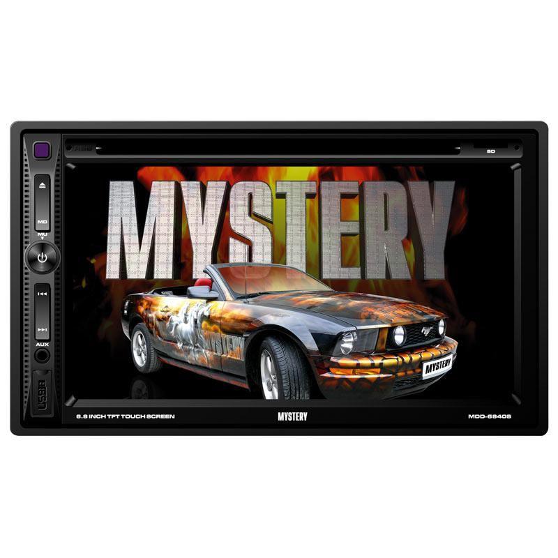 Автомагнитола MYSTERY MDD-6840S,  USB,  microSD