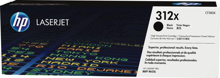 Картридж HP 312A CF380X,  черный