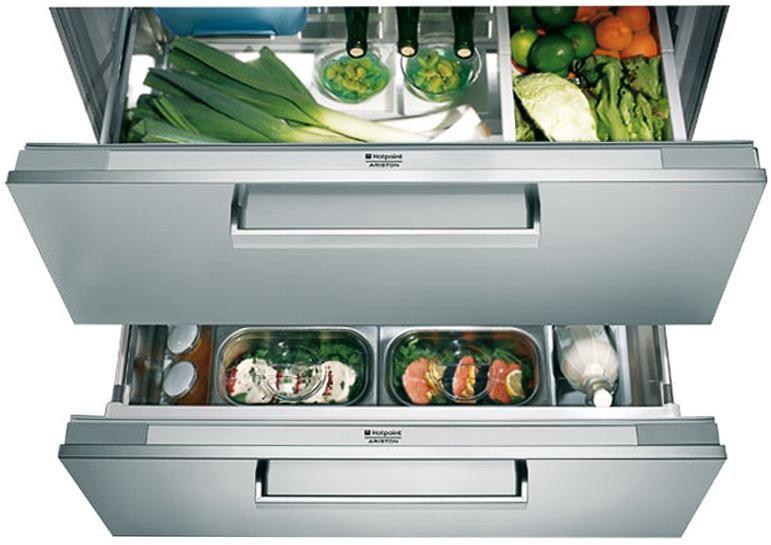 Встраиваемый холодильник HOTPOINT-ARISTON BDR 190 AAI/HA серебристый