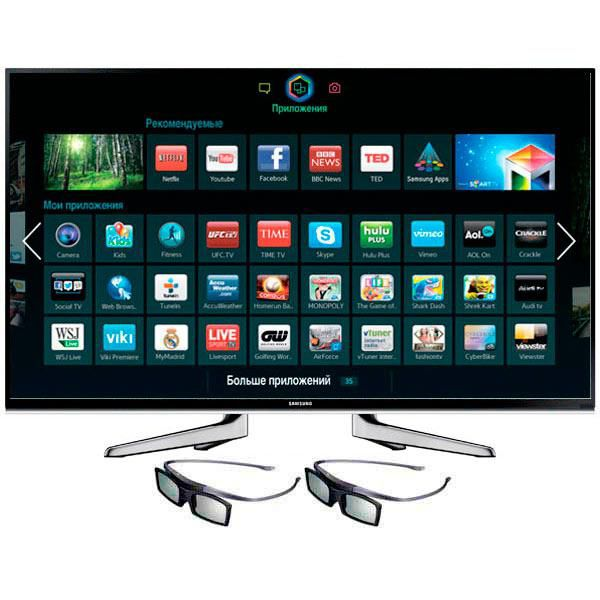 LED телевизор SAMSUNG UE48H6650AT