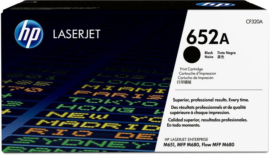 Картридж HP 652A черный [cf320a]