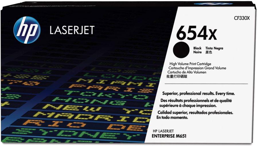 Картридж HP CF330X черный