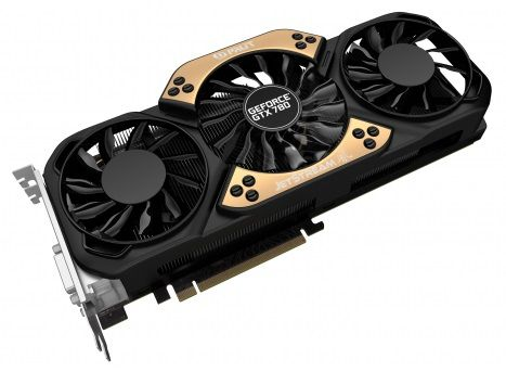 Видеокарта PALIT GeForce GTX 780 JETSTREAM,  NE5X780H10FB-110XJ,  6Гб, GDDR5, Ret