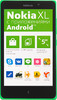 Смартфон NOKIA XL Dual Sim зеленый вид 1