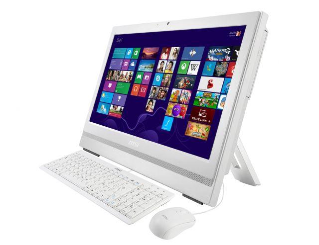 Моноблок MSI AP200-062, Intel Core i3 4150, 4Гб, 500Гб, Intel HD Graphics 4400, DVD-RW, Free DOS, белый [9s6-aa7512-062]