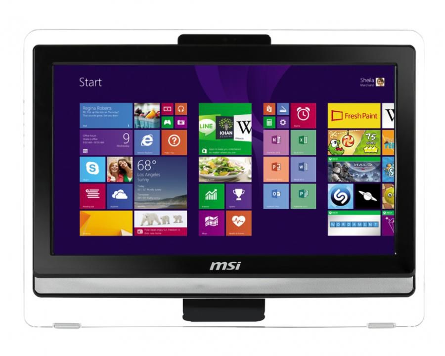 Моноблок MSI AE202-022, Intel Celeron 1037U, 4Гб, 500Гб, Intel HD Graphics, DVD-RW, Windows 7 Home Premium, белый [9s6-aa8712-022]