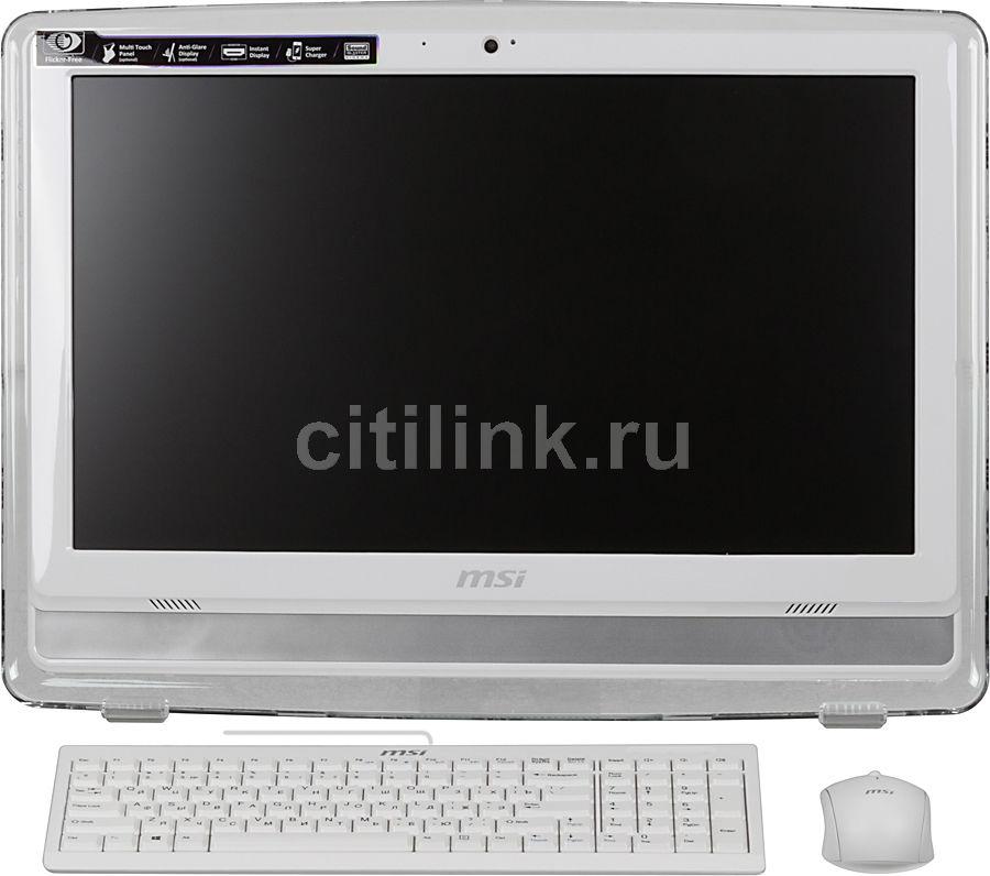 Моноблок MSI AE201-051, Intel Core i3 4150, 4Гб, 500Гб, Intel HD Graphics 4400, DVD-RW, Windows 7 Home Premium, белый [9s6-aa8212-051]
