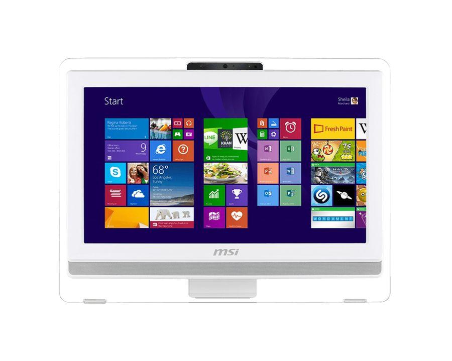 Моноблок MSI AE203G-011, Intel Core i3 4150, 4Гб, 500Гб, nVIDIA GeForce GT740M - 2048 Мб, DVD-RW, Free DOS, белый [9s6-aa8a12-011]