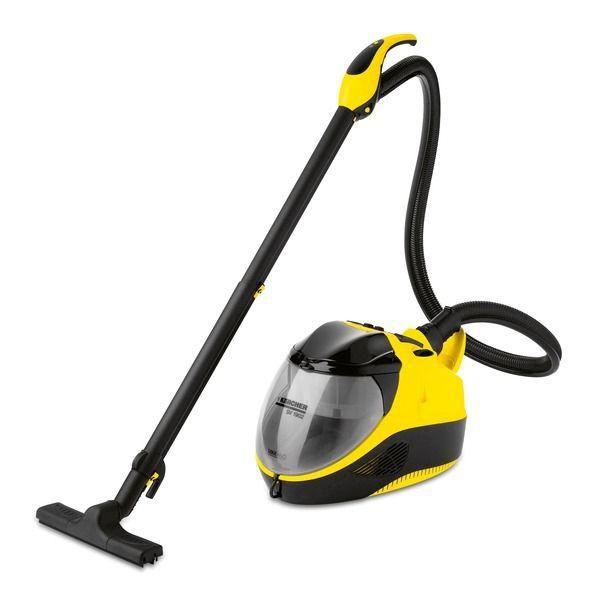 Паровой пылесос KARCHER SV1902, 2300Вт, желтый/черный