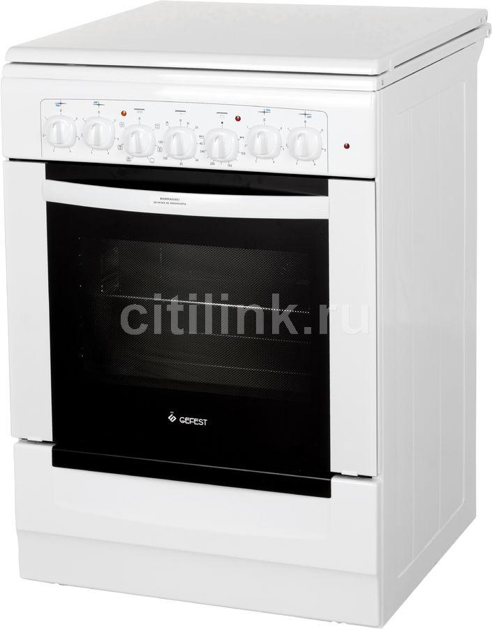 Электрическая плита GEFEST ЭП Н Д 6140-02,  эмаль,  белый
