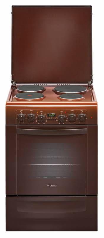 Электрическая плита ГЕФЕСТ 6140-03 К,  эмаль,  коричневый [эпнд 6140-03 к]