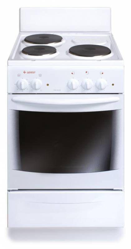Электрическая плита ГЕФЕСТ 2140-03 К78,  эмаль,  белый [эпнд 2140-03 к78]