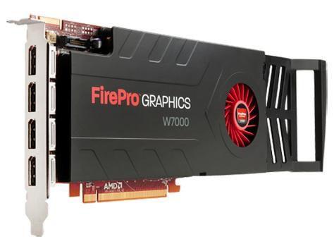 Видеокарта HP FirePro W7000,  C2K00AA,  4Гб, GDDR5, Ret