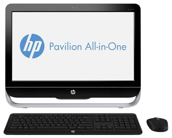 Моноблок HP Pavilion 23-g102nr, Intel Core i3 4150T, 4Гб, 1000Гб, Intel HD Graphics 4400, DVD-RW, Windows 8.1, черный и серебристый [j2g35ea]