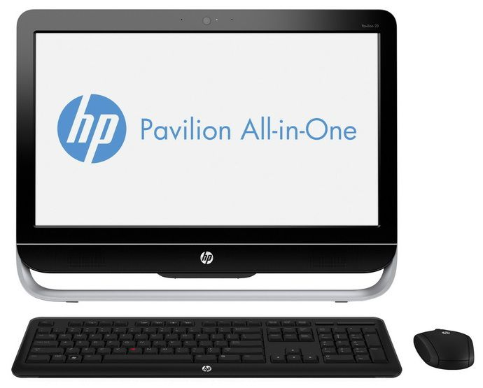 Моноблок HP Pavilion 23-g105nr, Intel Core i5 4590T, 8Гб, 1Тб, DVD-RW, Windows 8.1 [j2g38ea]