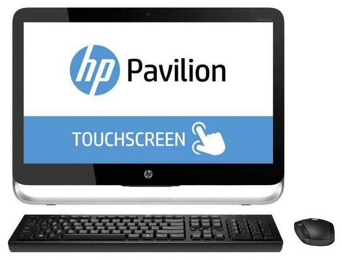 Моноблок HP Pavilion 23-p000nr, Intel Pentium G3240T, 4Гб, 500Гб, DVD-RW, Windows 8.1 [j2g52ea]