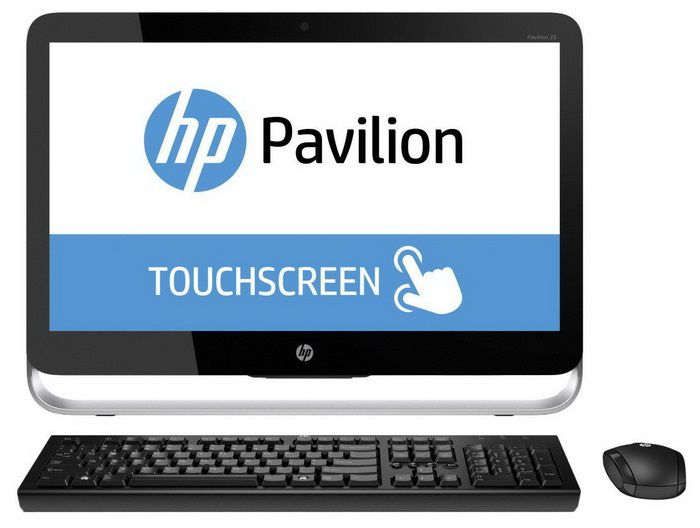 Моноблок HP Pavilion 23-p002nr, Intel Core i5 4590T, 8Гб, 1Тб, DVD-RW, Windows 8.1 [j2g54ea]