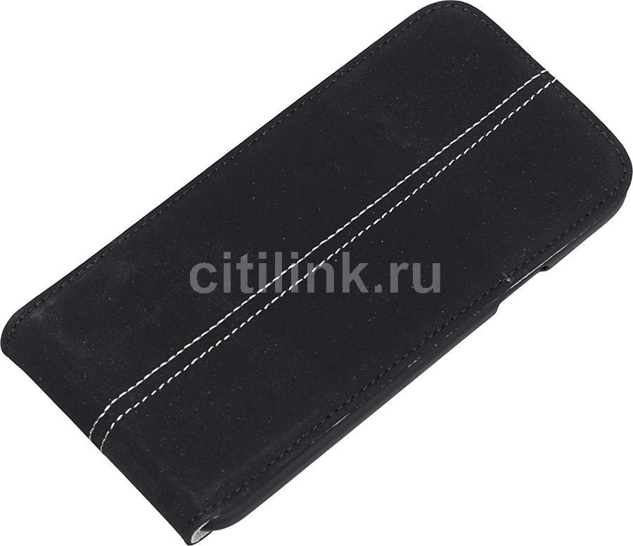 Чехол (флип-кейс) HAMA Smart Case Nubuk, для Samsung Galaxy S5, черный [00124697]