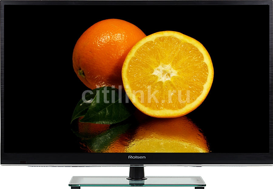 "LED телевизор ROLSEN RL-32E1308  ""R"", 32"", HD READY (720p),  черный"