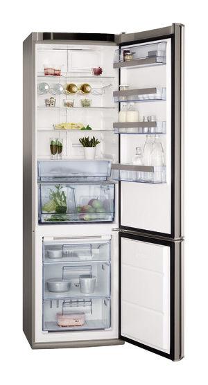 Холодильник AEG S 58360 CMM0,  двухкамерный,  нержавеющая сталь [s58360cmm0]