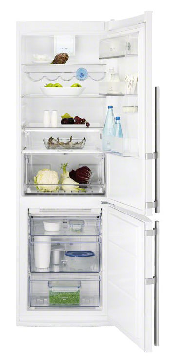 Холодильник ELECTROLUX EN3453AOW,  двухкамерный,  белый