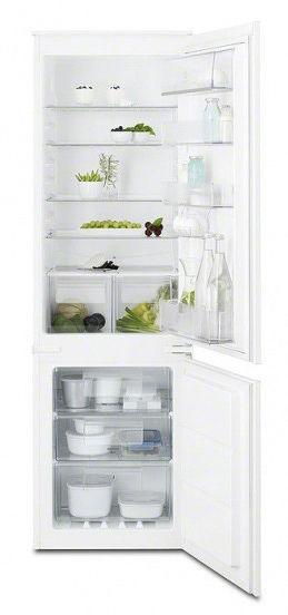 Встраиваемый холодильник ELECTROLUX ENN92841AW белый