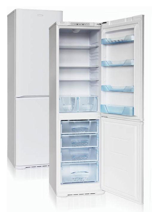 Холодильник БИРЮСА Б-129S,  двухкамерный, белый