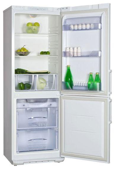 Холодильник БИРЮСА 143KLES,  двухкамерный,  белый