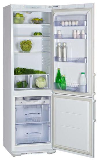 Холодильник БИРЮСА 144KLES,  двухкамерный,  белый