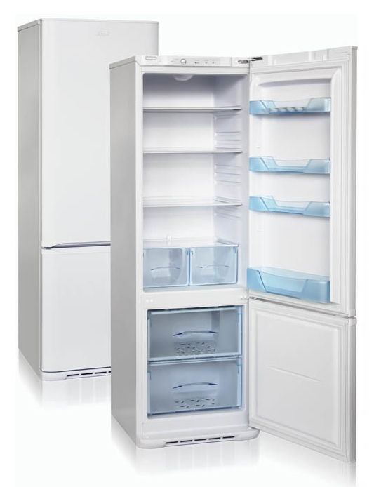 Холодильник БИРЮСА Б-132,  двухкамерный, белый