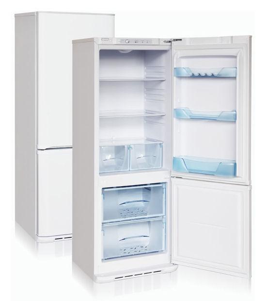 Холодильник БИРЮСА Б-134,  двухкамерный,  белый [б-134дубль использовать 630876]