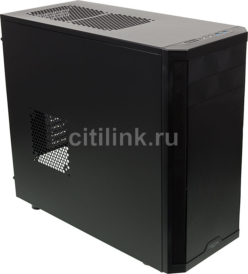 Корпус ATX FRACTAL DESIGN Core 3300, Midi-Tower, без БП,  черный