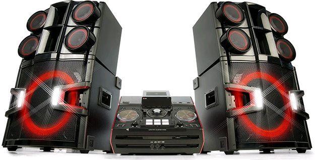 Музыкальный центр LG X-BOOM DJ PRO CM9940,  черный