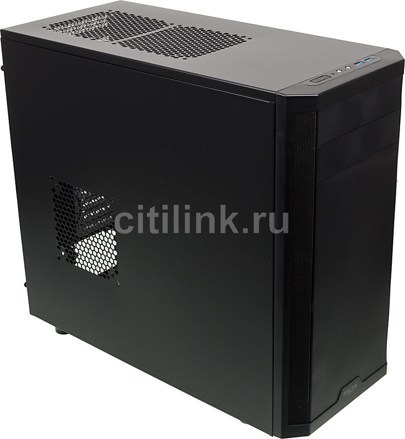 Корпус ATX FRACTAL DESIGN Core 3500, Midi-Tower, без БП,  черный