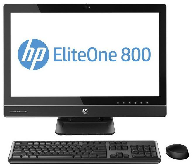 Моноблок HP EliteOne 800, Intel Core i5 4570, 4Гб, 500Гб, Windows 7 Professional [f6y61es]